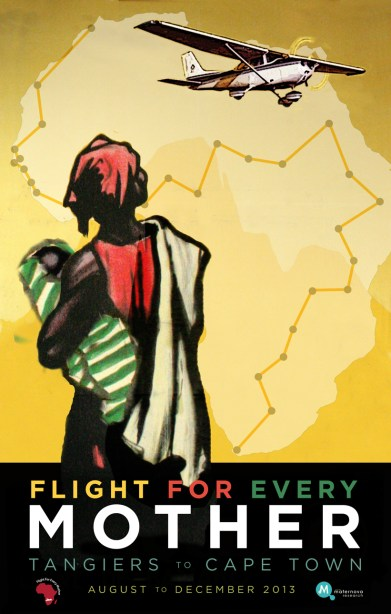 Flight for Every mother poster copy