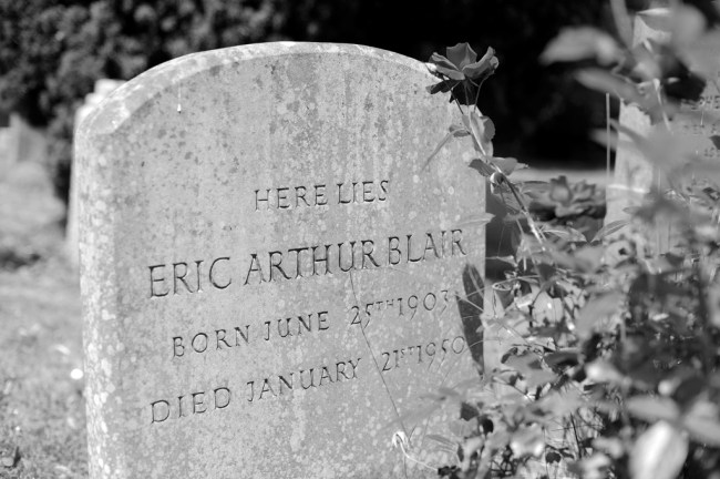 Orwell's Headstone