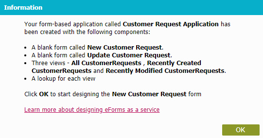 Example) Create and Run a Form-Based Application with AgilePoint NX