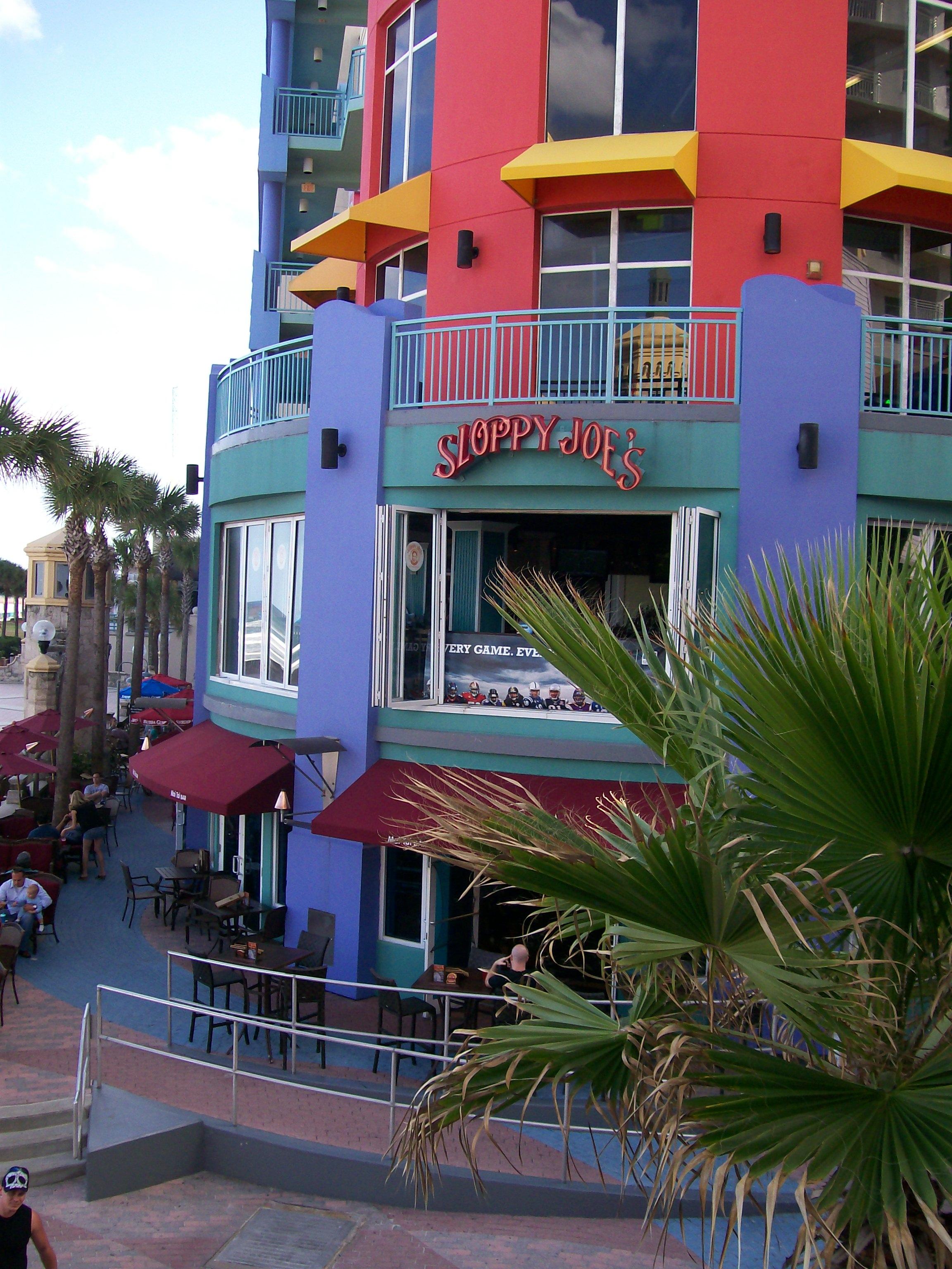 Sloppy Joe S Dodaytona Daytona Beach Fl Restaurant