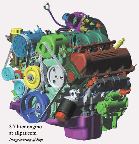 07 dodge nitro engine diagram
