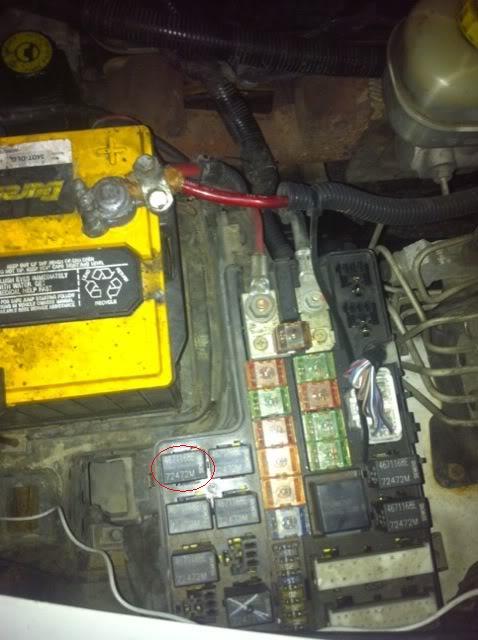 1999 durango fuel pump relay location - DodgeForum
