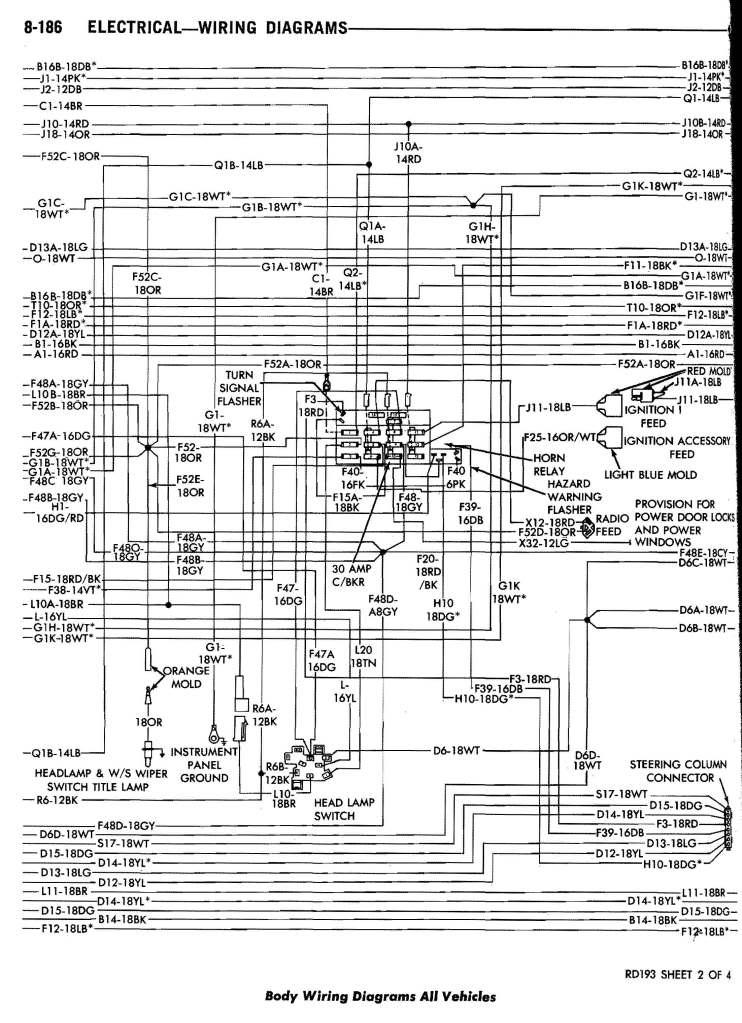 1991 Dodge D150 Wiring Diagram - Wiring Diagrams