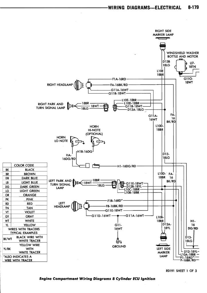 ram tail lights wiring diagram