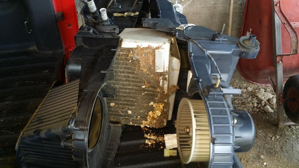 2000 Dodge Durango Heater Core