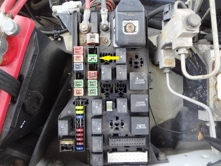 06 Dodge Ram Fuse Box No Tail Lights On 7 Pin Connector Dodgeforum Com