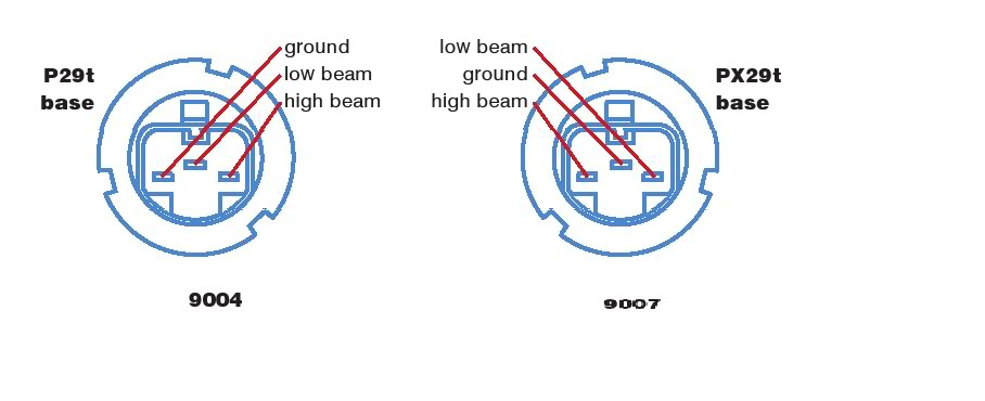 9007 Bulb Wiring Diagram Wiring Diagram