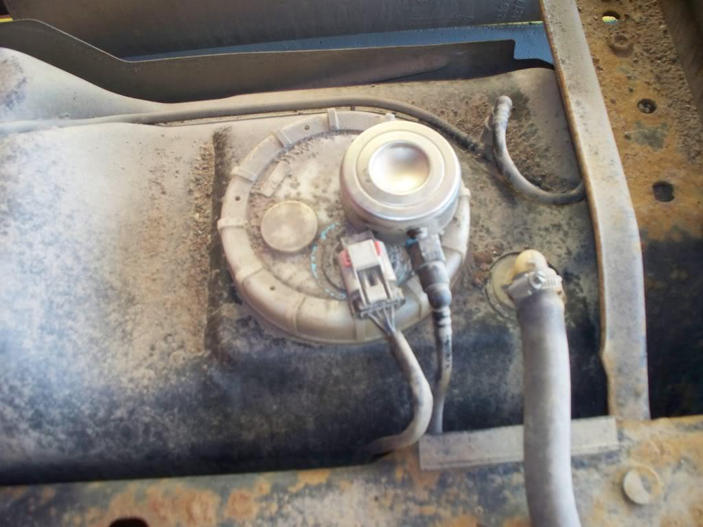 dodge ram fuel filter location