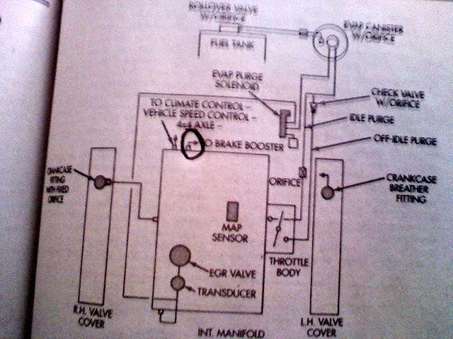 dodge ram 50 engine diagram