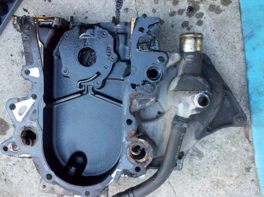 timing cover coolant leak - how hard to fix? - DodgeForum
