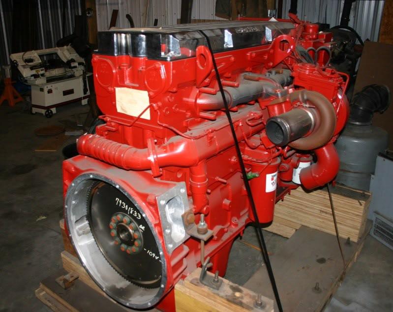 Cummins 700HP Engine swapfor the real piston heads on here
