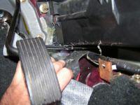 drivers side underneath gas pedal is wet - DodgeForum.com