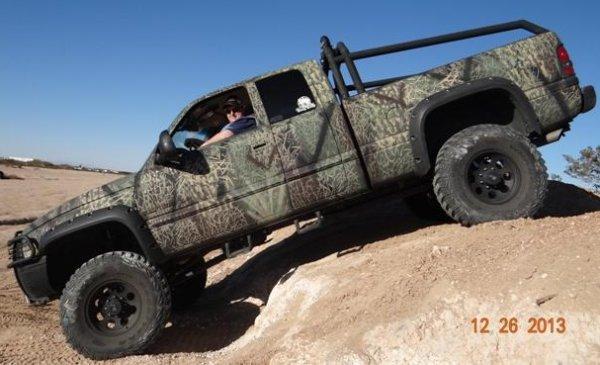 Photo of the Week Corbo1962\u0027s Camouflaged 2000 Dodge Ram \u2013 The