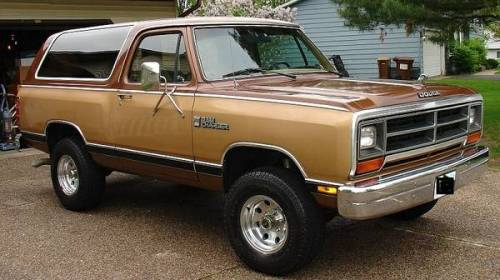 1987 Dodge Ramcharger For Sale in Minneapolis, Minnesota - $7,500