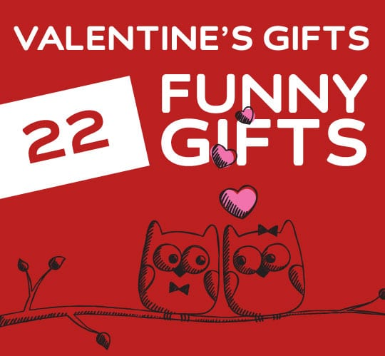 22 Funny Valentine\u0027s Day Gifts for Friends, Crushes  Lovers