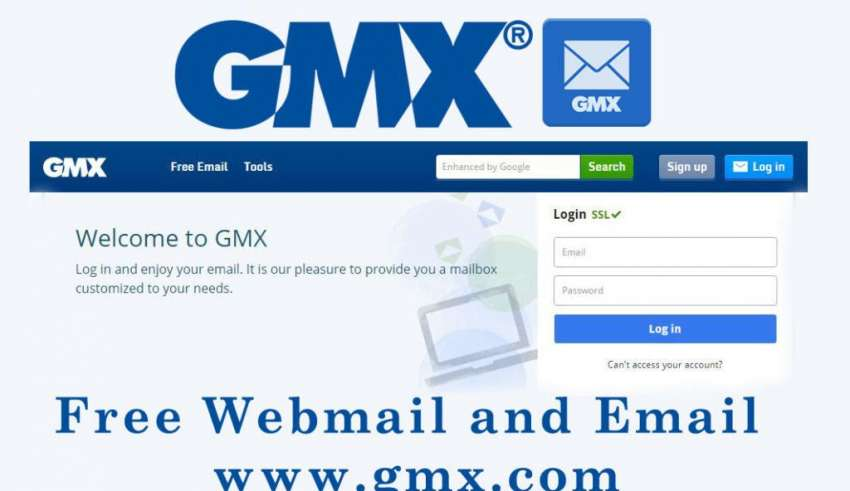 Gmx Web Mail Account Login Tips How To Create Account - Gmx Homepage