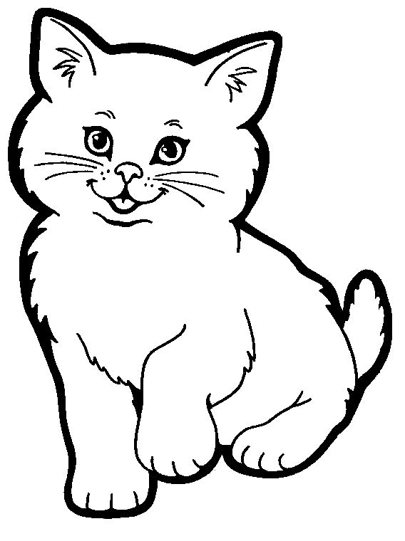 Cat Coloring Pages A Good Way To Teach Kids To Love Cats