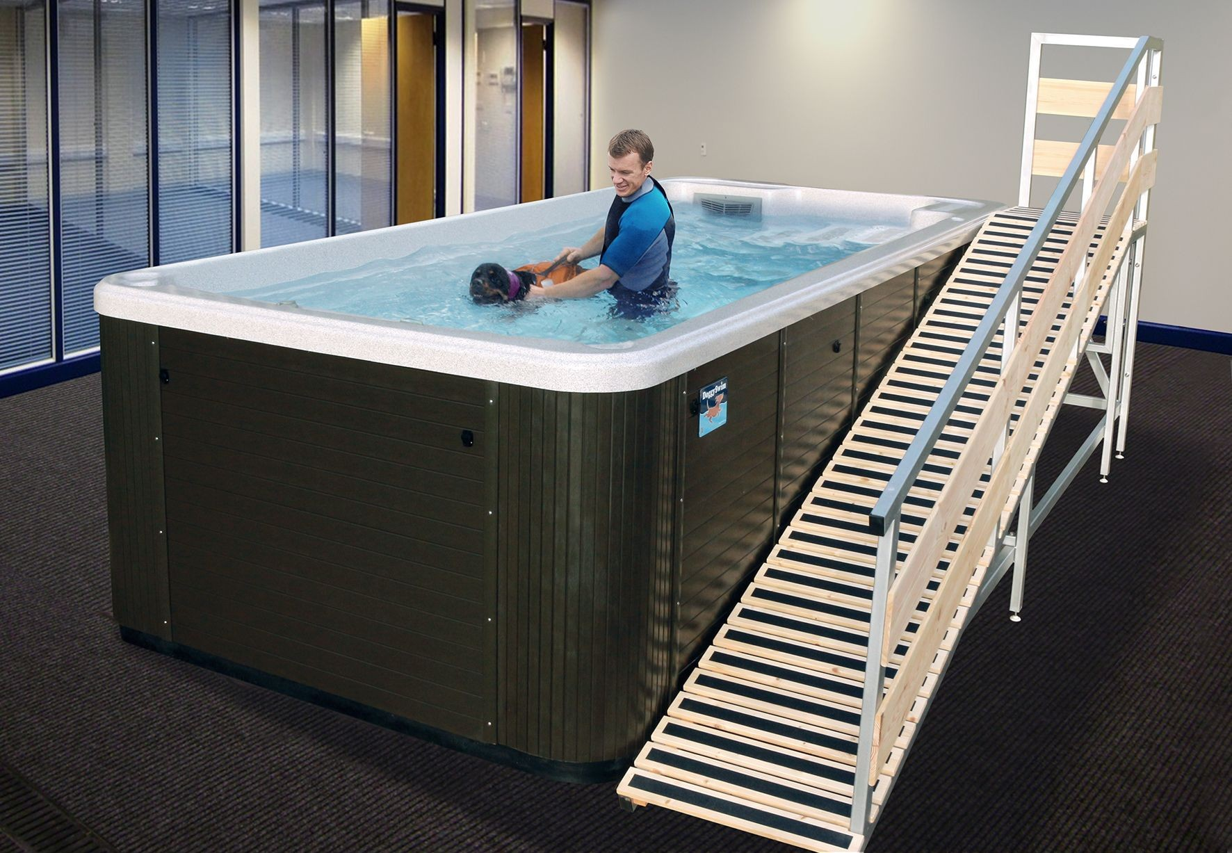 Pool Kaufen Test Doggyswim Canine Exercise Pools Hydrotherapy For Dogs