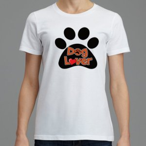 Dog lover women T shirt