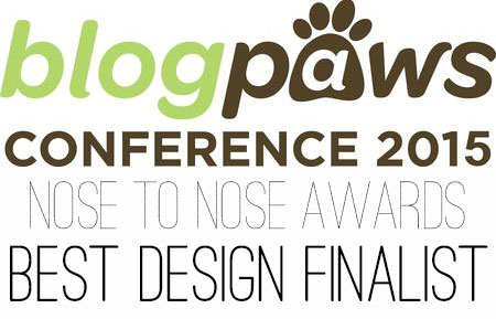 BlogPaws Nose to Nose Awards Finalist 2015