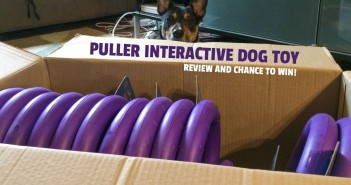 Puller dog toy review and win
