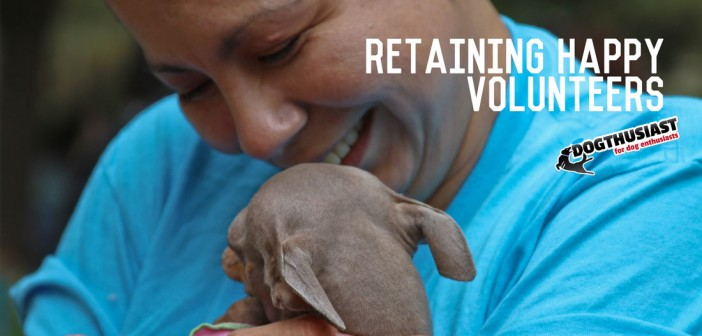 How to retain animal shelter volunteers