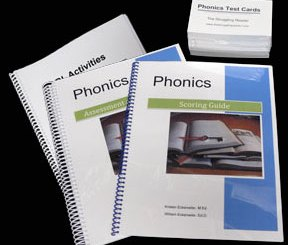 The Struggling Reader Phonics Assessment and Teaching Materials