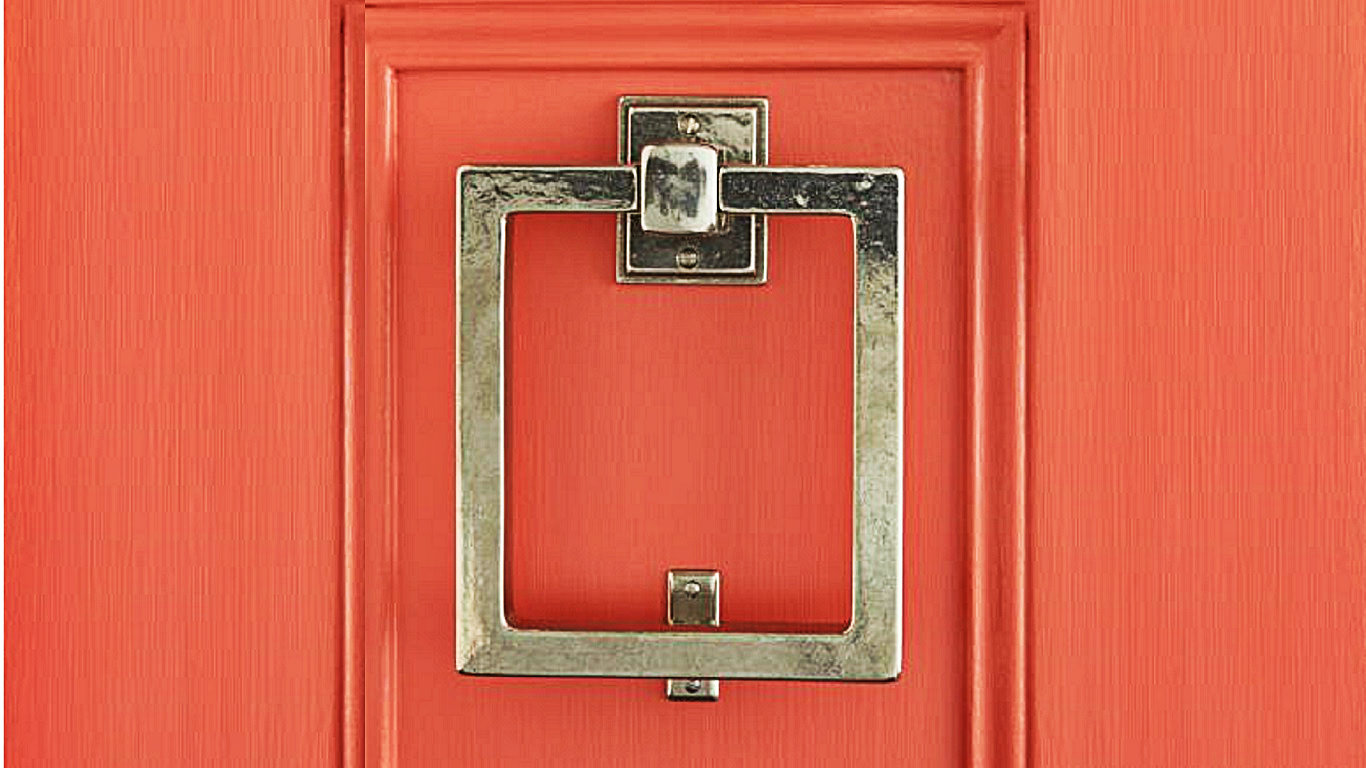 Door Nocker Modern Door Knocker Crisp Interior Design