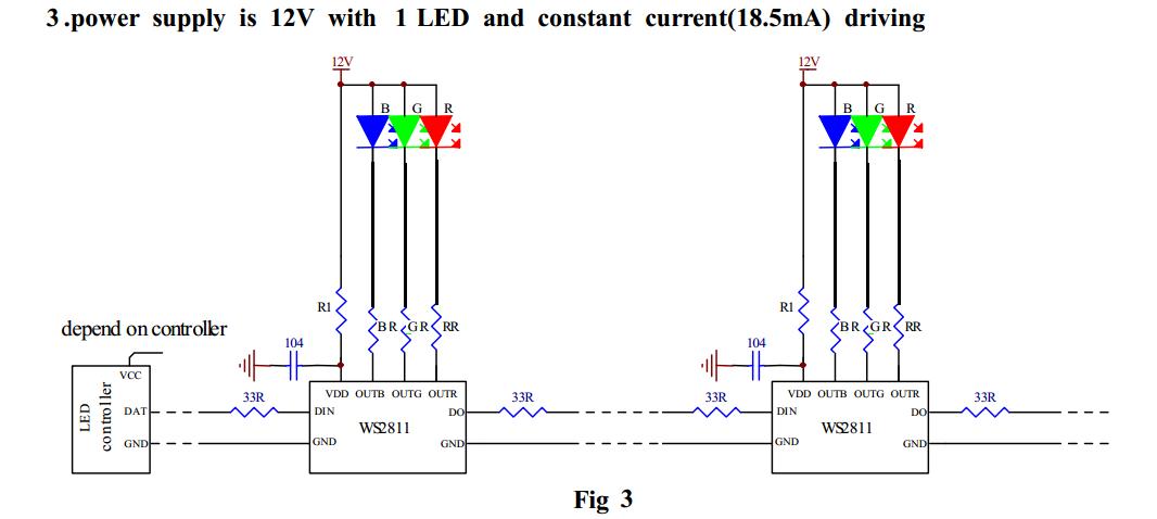 12v led wiring diagram for rgb