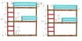 Triple Bunk Bed Dimensions