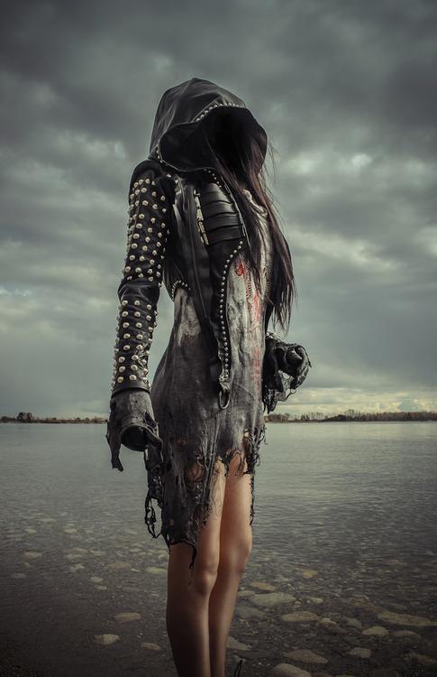 Cyberpunk Girl Wallpaper Postapokalyptische Mode Toxic Vision Doktorsblog