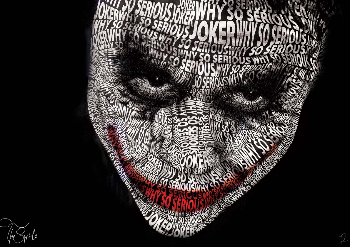 Serious Quotes Wallpapers Graphic Design Typography Joker Dolanfrick16