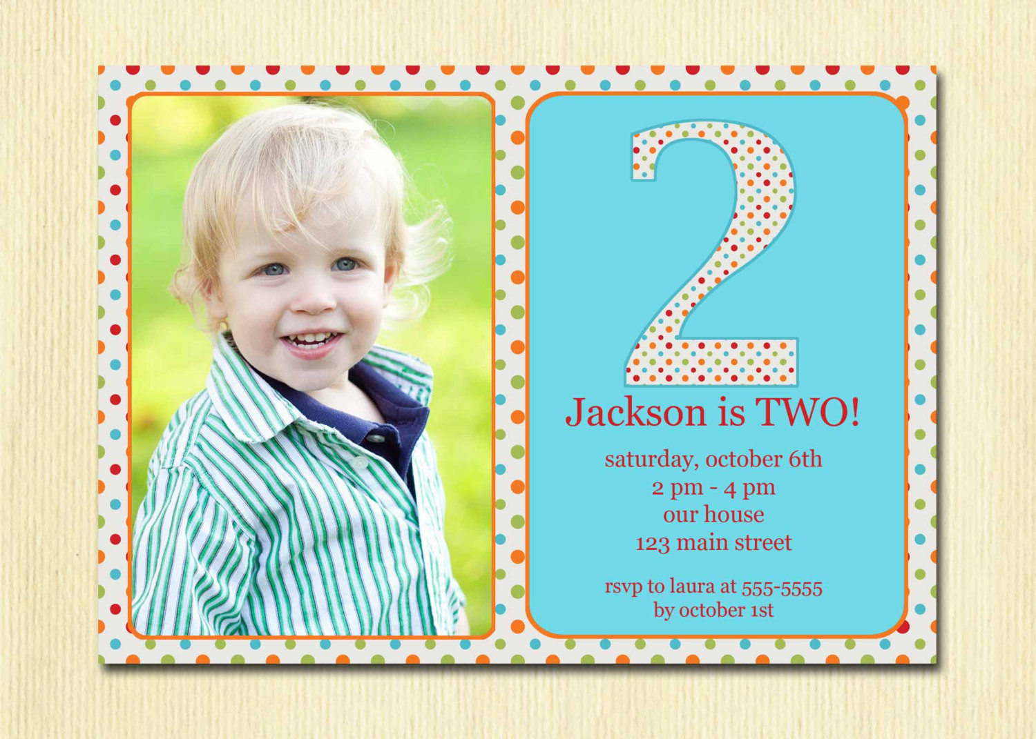 Toddler 2 Years Old Birthday 2 Year Old Birthday Party Invitation Wording Dolanpedia
