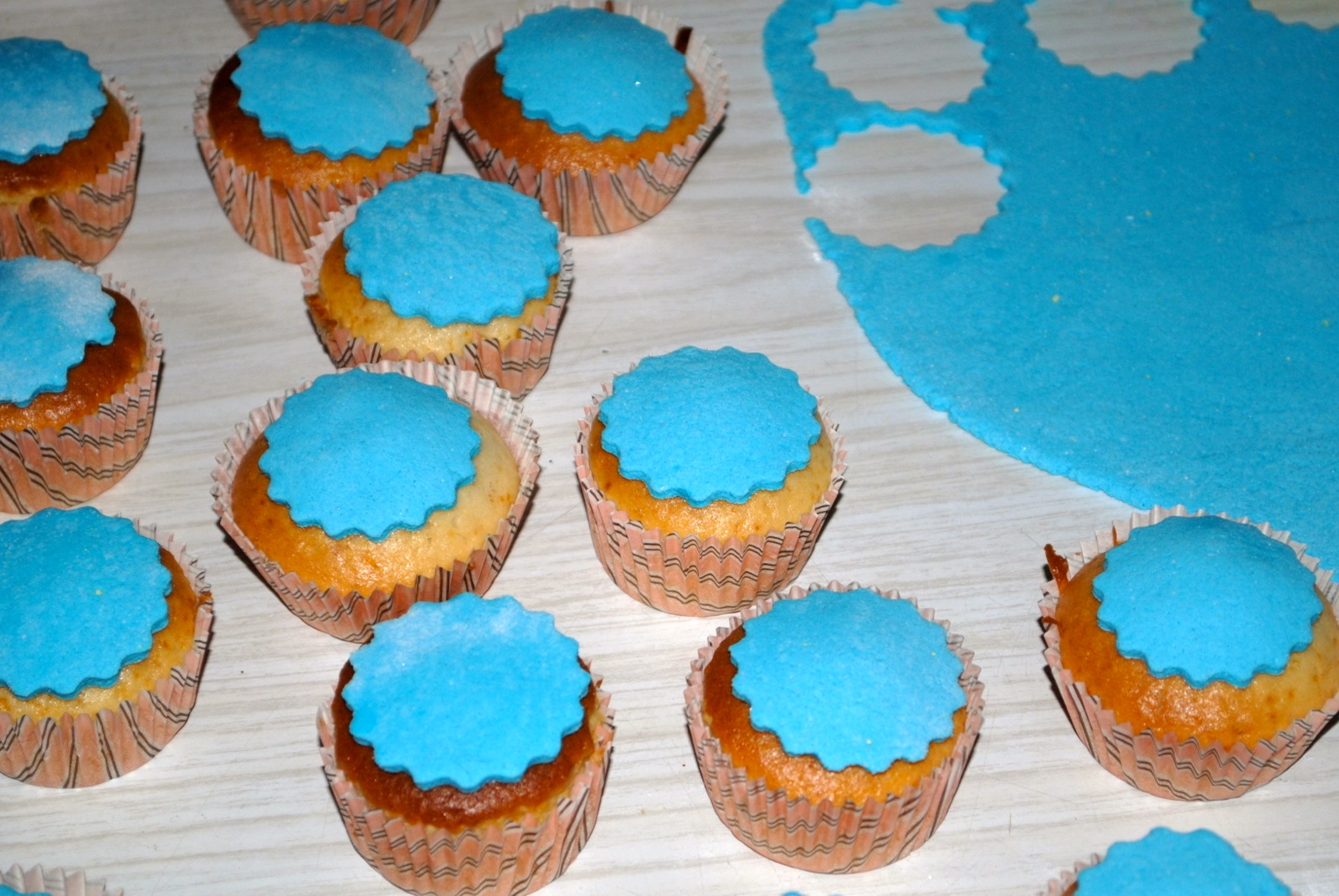 Muffins Decorados Muffins Fondant Dolce Forno Di Ros