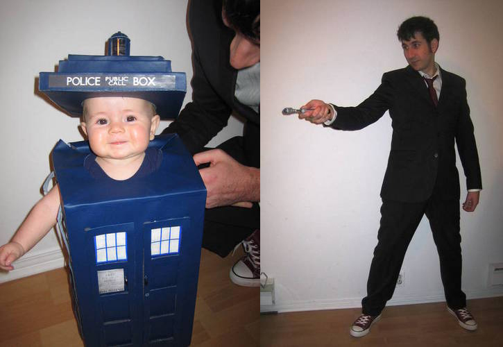 Doctor Who Dad And Daughter Costume Dollar Store Crafts