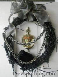 Make a Spooky Raven Halloween Wreath  Dollar Store Crafts