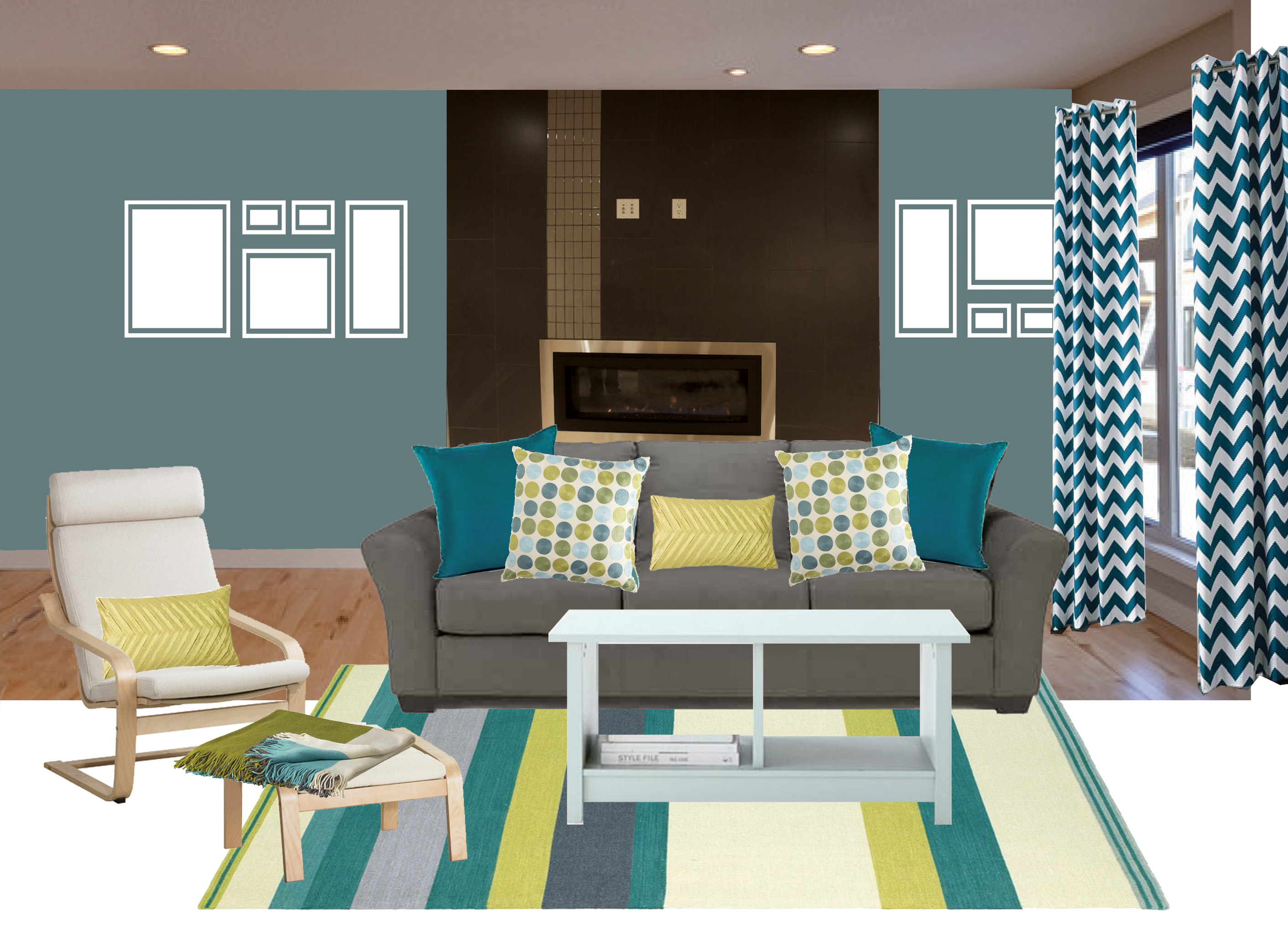 Teal Accents Living Room Living Room With Teal Accents