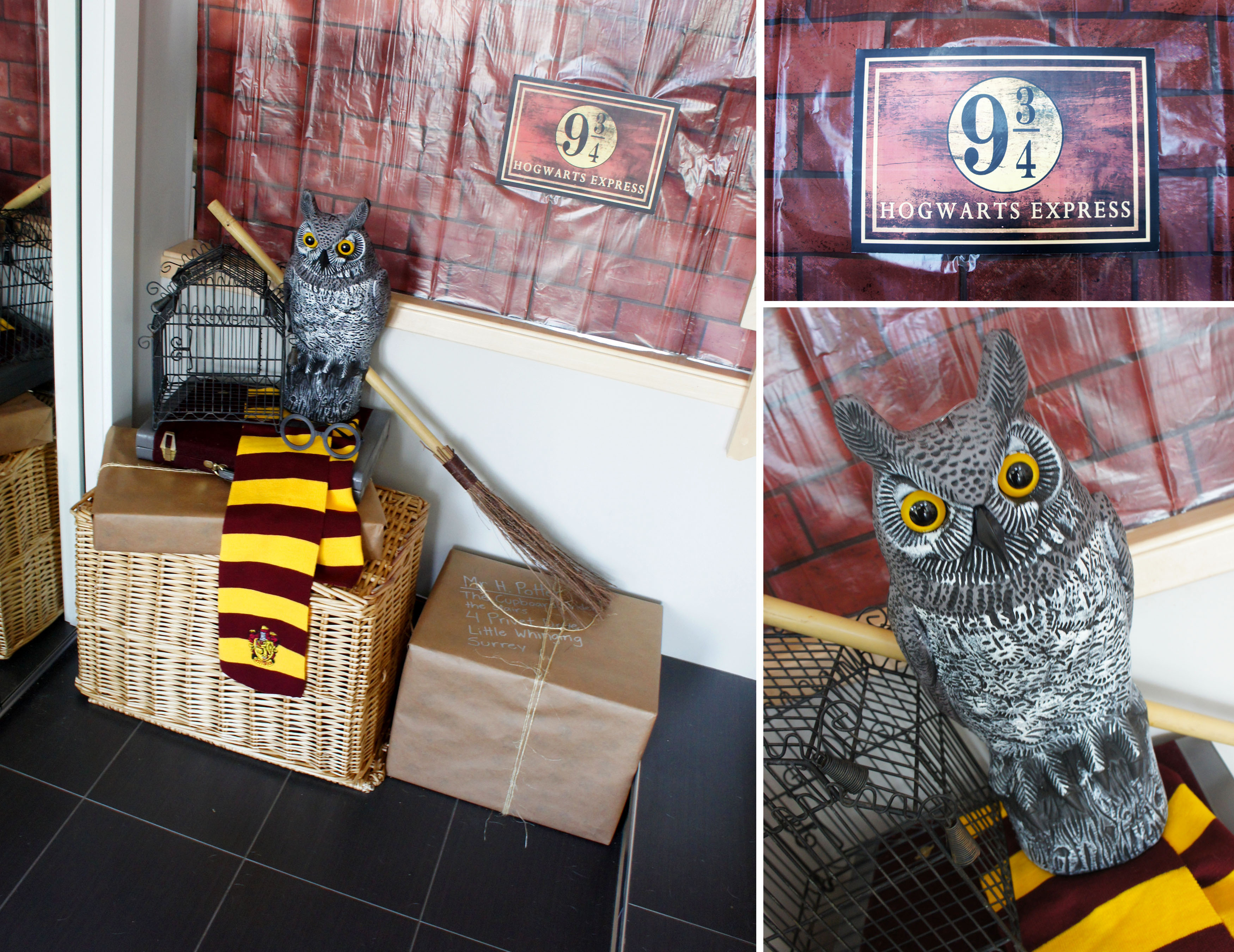 Harry Potter Display A Very Harry Potter Couples Wedding Shower