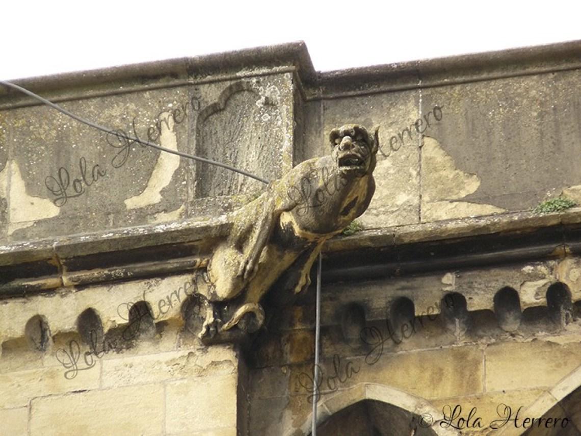 Gárgola Catedral Burdeos (Francia) (337)
