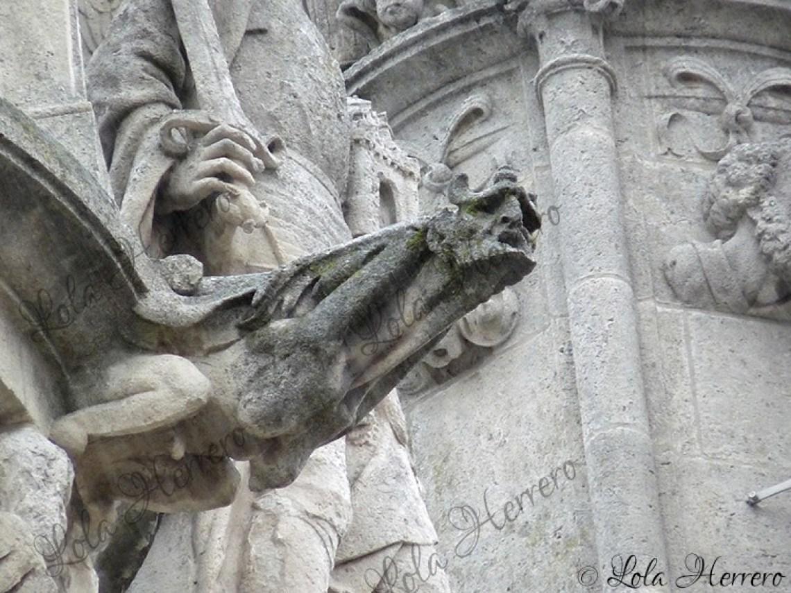 Gárgola Catedral Burgos (401)