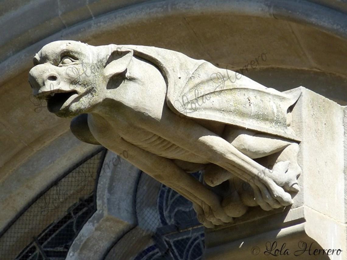 Gárgola Catedral St. Michel Carcassonne (Francia) (334)