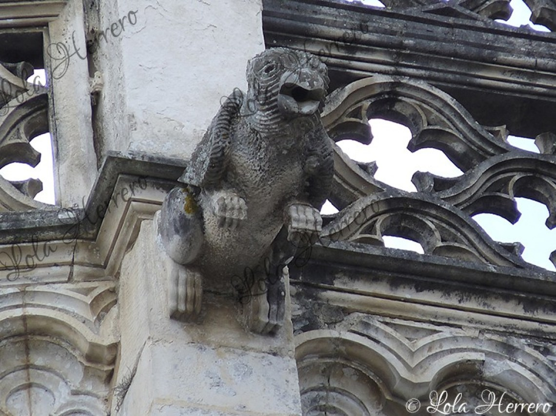 Gárgola Monasterio Batalha (Portugal) (445)