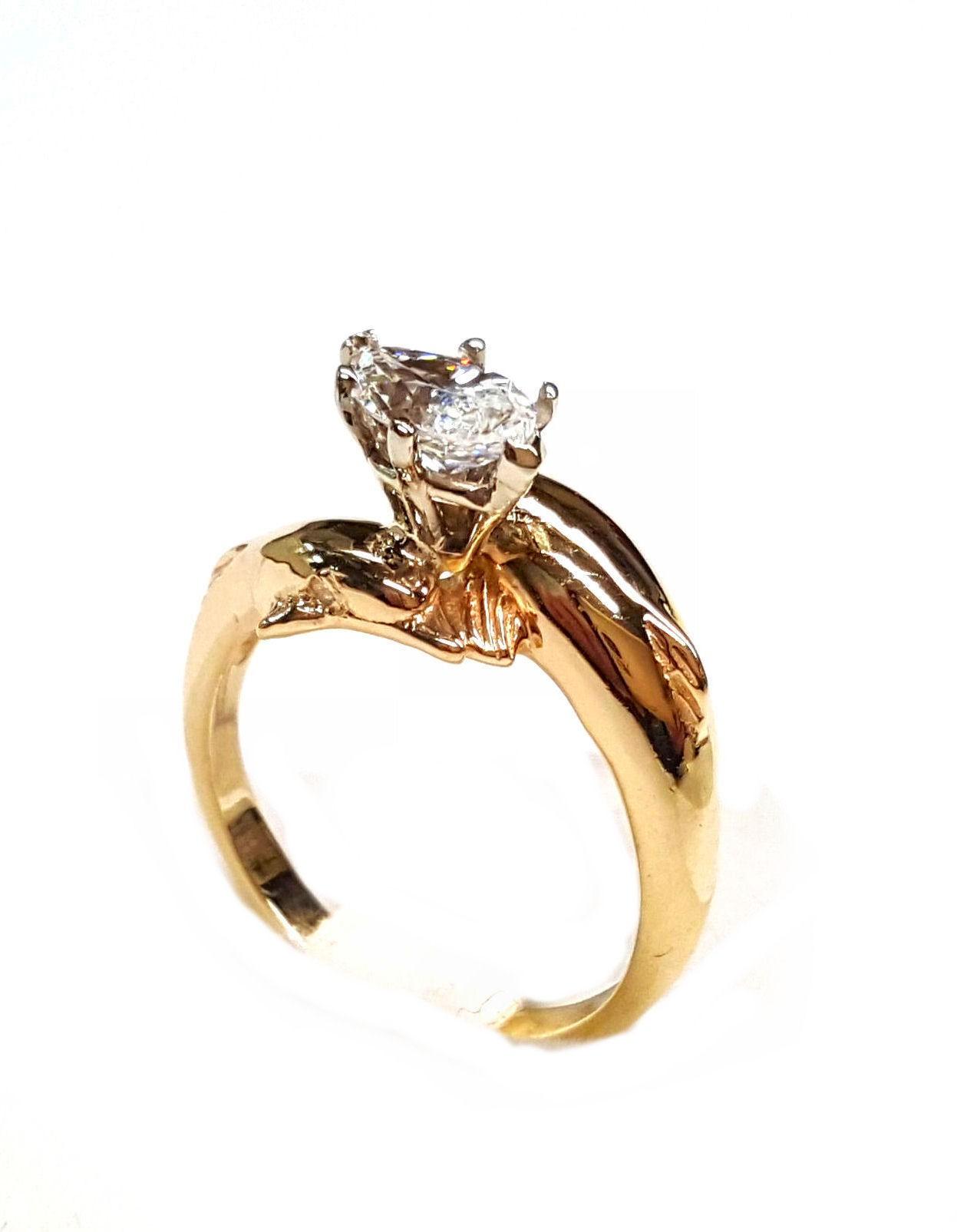 2 full dolphin diamond engagement ring 1 4ct marquise center dolphin wedding rings 2 Full Dolphin Diamond Engagement Ring 1 4ct Marquise Center