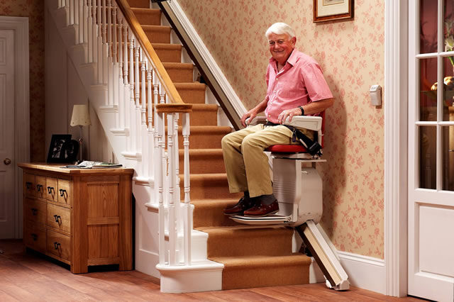 Reconditioned Stannah Stairlifts Straight Dolphin Mobility