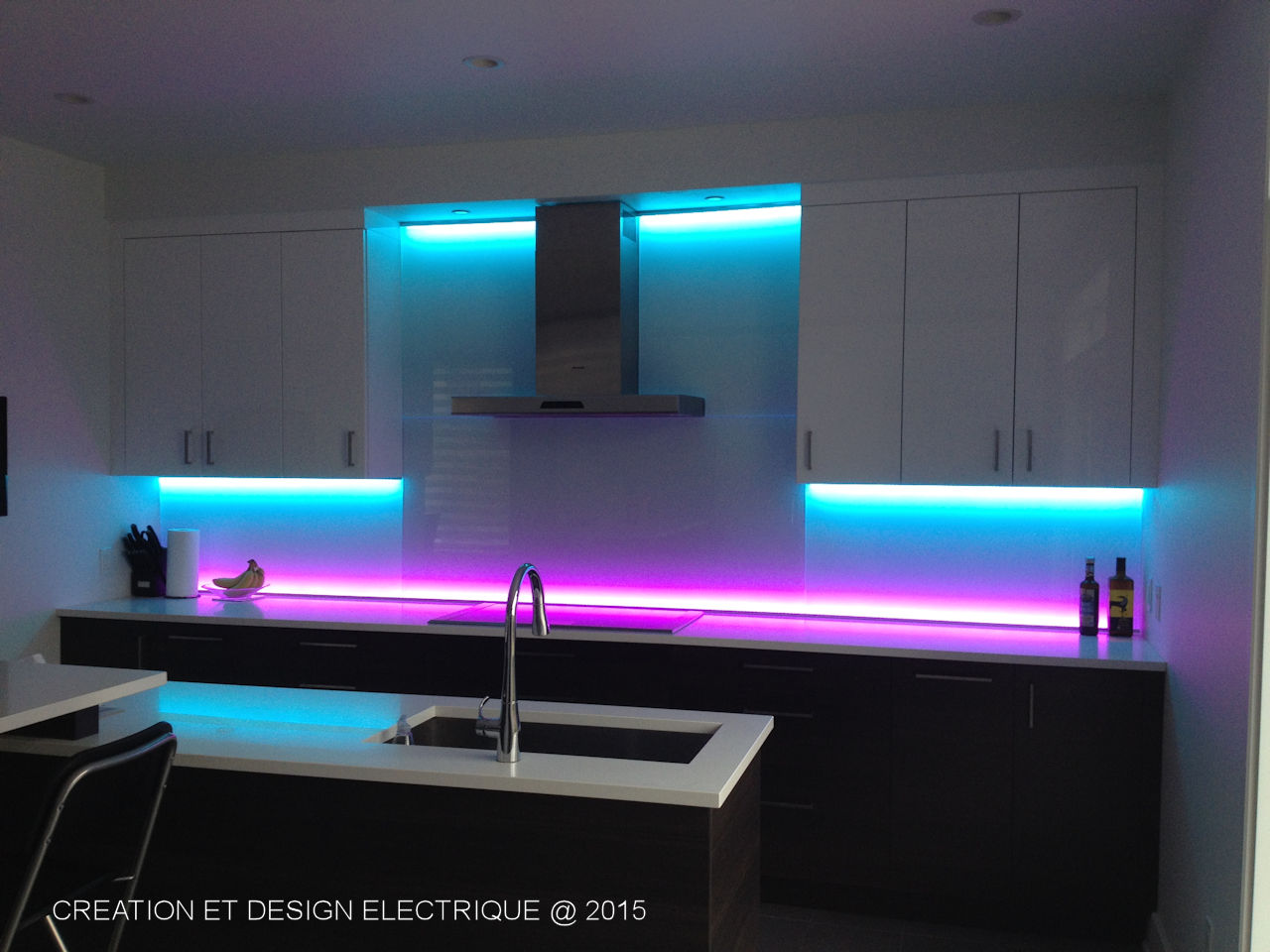 Installation Ruban Led Comment Installer Un Ruban Led Dans La Cuisine