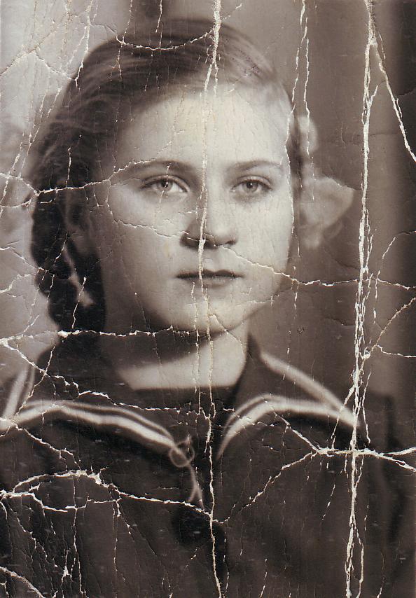 Соседка Наталья Дрёмова. Середина 1950-х гг.