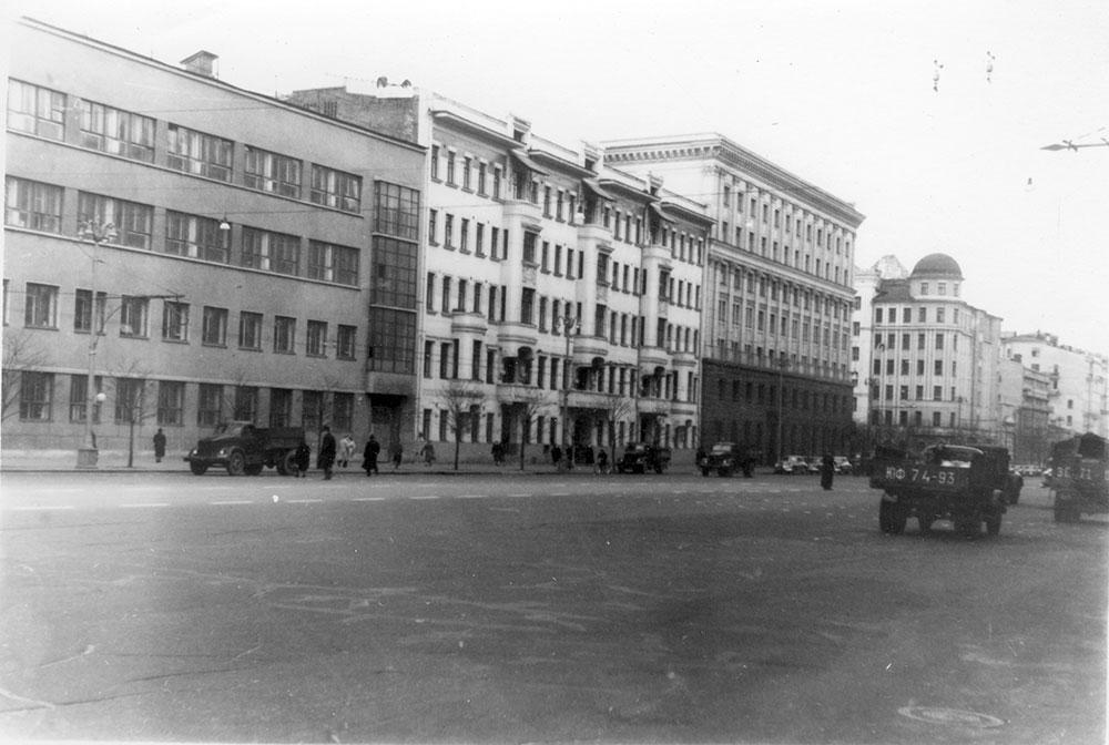 1950-е годы. Из архива Музея архитектуры имени А. В. Щусева
