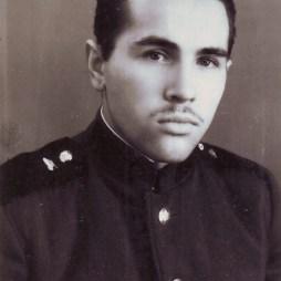 Юрий Козлов в армии, житель квартиры № 6. 1960 год