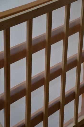 končni izgled ograje z zaščitno mrežo