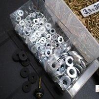 Za namestitev predalnikov smo uporabili tudi gumice, ki so v izhodišču mišljene za vodoinštalaterska dela.